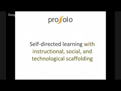 ProSolo: A Platform for Personalized, Competency-based Learning