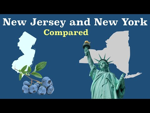 New Jersey and New York Compared