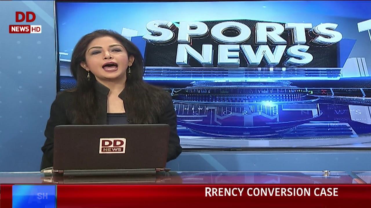 Sports News Bulletin in English @ 5:30pm