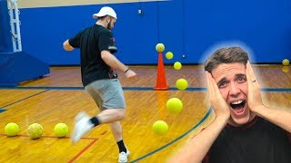 SOCCER TRICK SHOT CHALLENGE *Loser Has To Take SATs!*