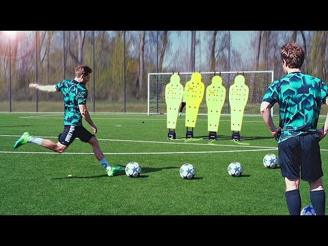 Download Youtube: freekickerz vs Guerreiro (BVB) - Free Kick Challenge
