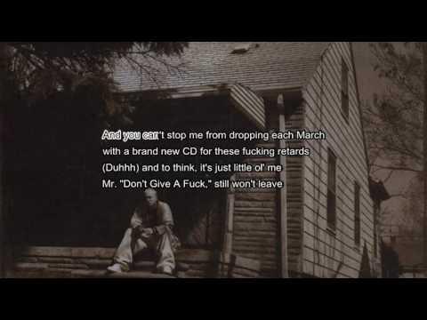 Eminem | Criminal | karaoke