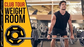 Weight Room | LA Fitness Club Tour