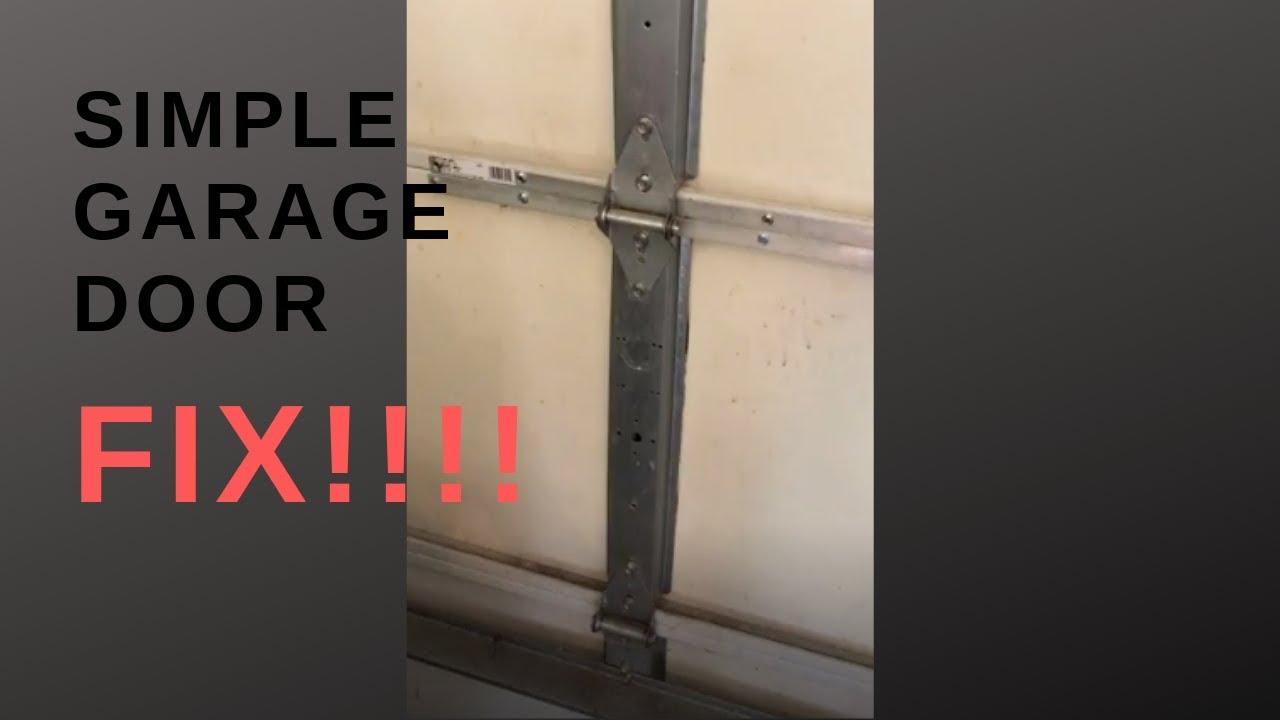 Simple Garage Door Fix!