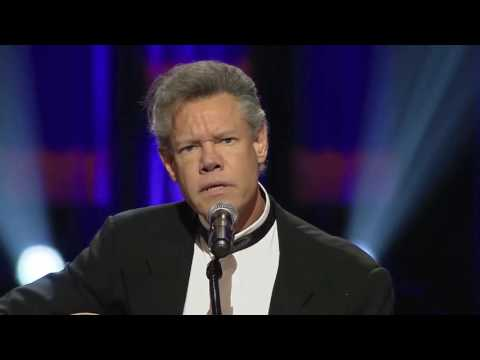 Randy Travis sings 'Amazing Grace' at George Jones' funeral