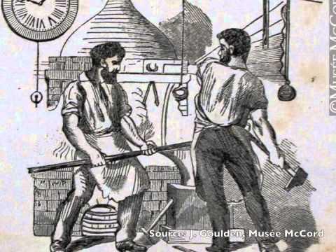 Les transports au Bas-Canada vers 1820