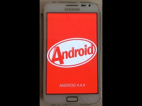 Android 4.4.4 KitKat for Galaxy Note GT-N7000 via C-ROM
