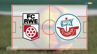Rot-Weiß Erfurt gegen Hansa Rostock - 18. Spieltag 16/17 - SiO