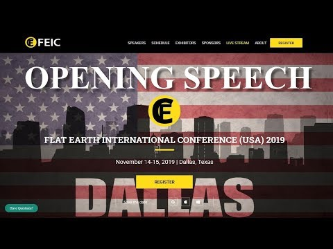 Flat Earth Conference 2019 Dallas - Opening Speech by Mark Sargent ✅ thumbnail