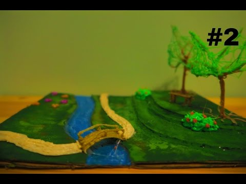 How to make a 3D Garden (3D Scribbler Pen) Part 2