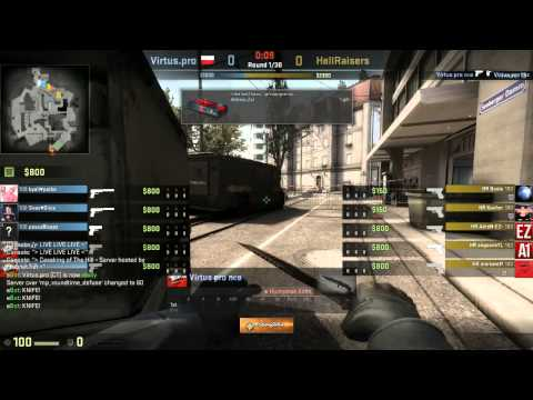 Caseking of the Hill #6 - Virtus.Pro vs. Hellraisers (map 1)
