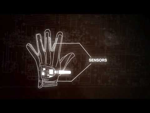 Wired Golf Glove Translates Sign Language