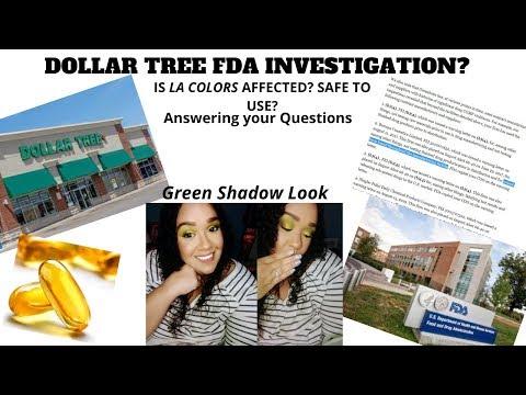 Dollar Tree FDA Investigation On Cosmetics/meds|New Makeup|Profusion|Amuse Liquid Shadows|Green Eye