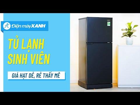 Tủ lạnh Aqua 130L: bé bé xinh xinh, không tốn diện tích (AQR-T150FA(BS)) • Điện máy XANH