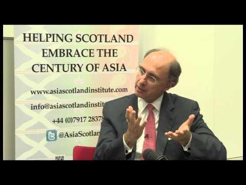 Asia Scotland Institute Xavier Rolet  Interview