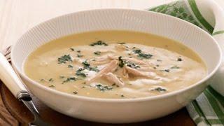 видео Суп-пюре с брокколи и куриным филе
