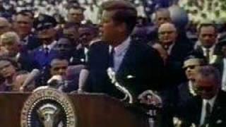 President John F. Kennedy Space Speech 1962