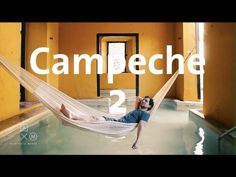 Qué hacer y dónde dormir en Campeche | Alan por el mundo Campeche #2