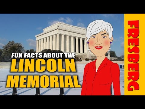 National Monuments: Fun Facts for kids about the Lincoln Memorial (Educational Videos for Students)