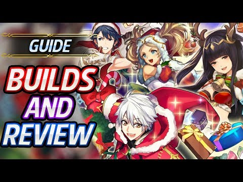 Winter Tharja, Winter Chrom, Winter Robin & Winter Lissa Builds & Review - Fire Emblem Heroes