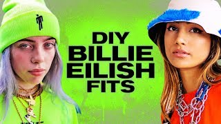 $50 DIY Fits Inspired by Billie Eilish! ~ NAYVA Ep #34 ~ FASHION & BEAUTY