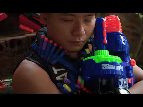 LTT Films : Special Forces Silver Flash Nerf Guns Fight Crime Group Tiger Mask Bandits Nerf New