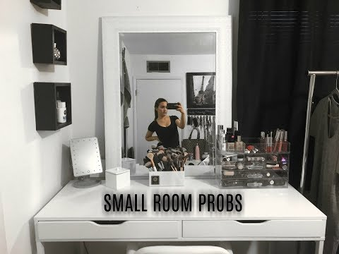 SMALL ROOM PROBLEMS | NEW VANITY | ♥  Ft. Obnoxious Husband