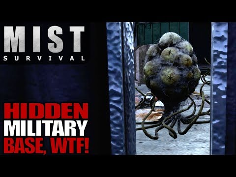 HIDDEN MILITARY BASE, WTF! | Mist Survival | Let's Play Gameplay | S01E12