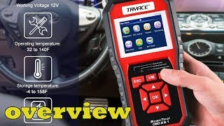 TryAce OBD2 Scanner overview checking