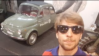 Amazing Classics At The Italian Police Cars Museum! A Little Tour