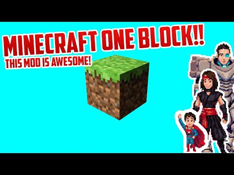 Minecraft But With One Block Youtube