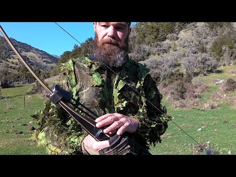 2018 Film # 4  -  Traditional Archery Hunt ... Wild Pigs And Goats In New Zealand