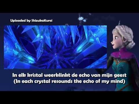Frozen - Let It Go [Dutch/Nederlands] Subtitles + Translation