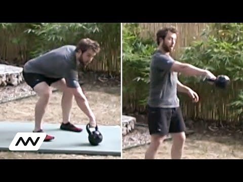 Onnit Kettlebell Basic Instruction for Beginners | Brandon McElroy