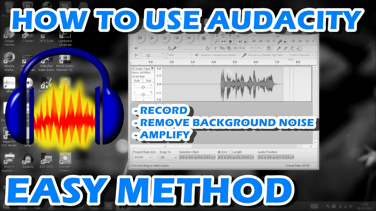 How to use Audacity Audio Recorded (Easy Method) - Free Download