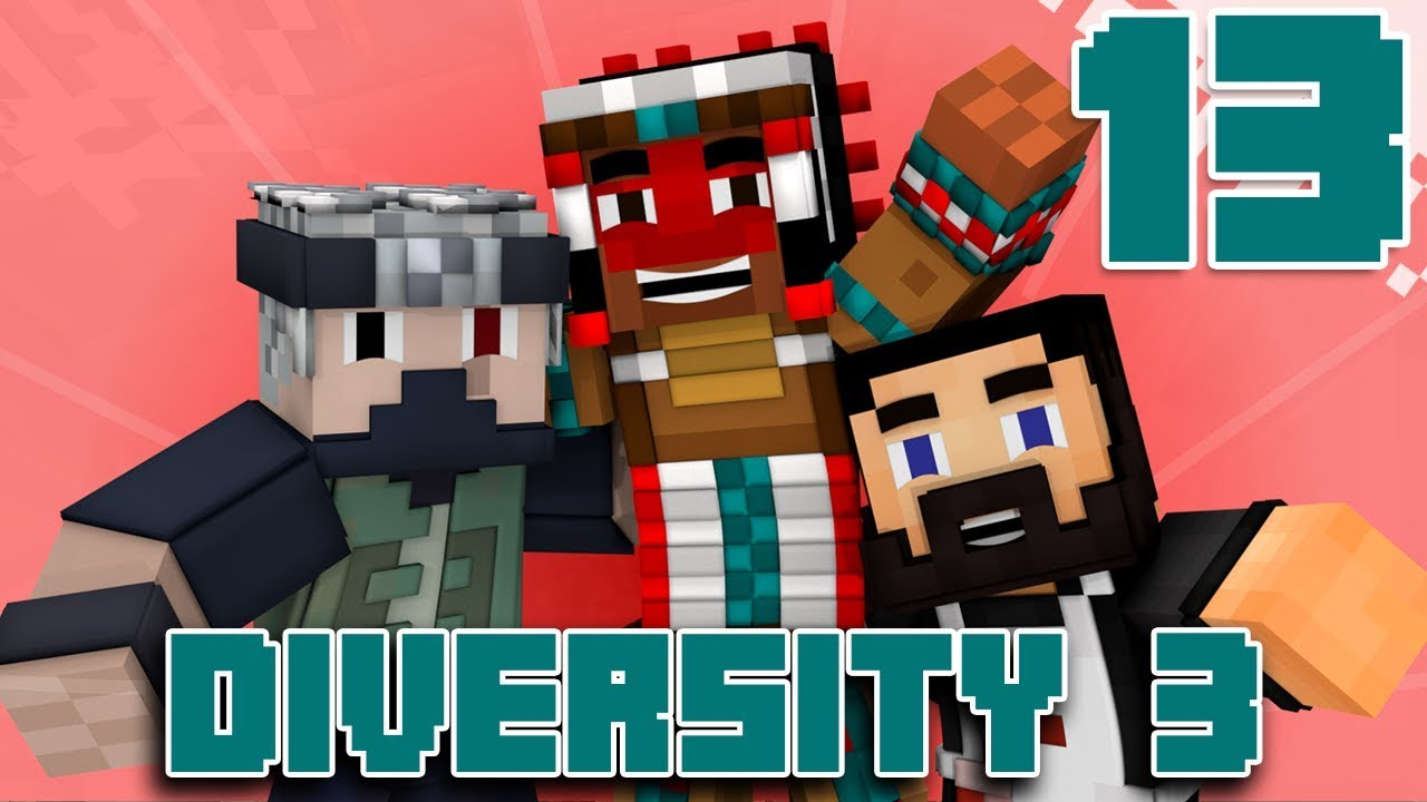 Team Canada Plays DIVERSITY 3 - EP13 (Custom Minecraft Map