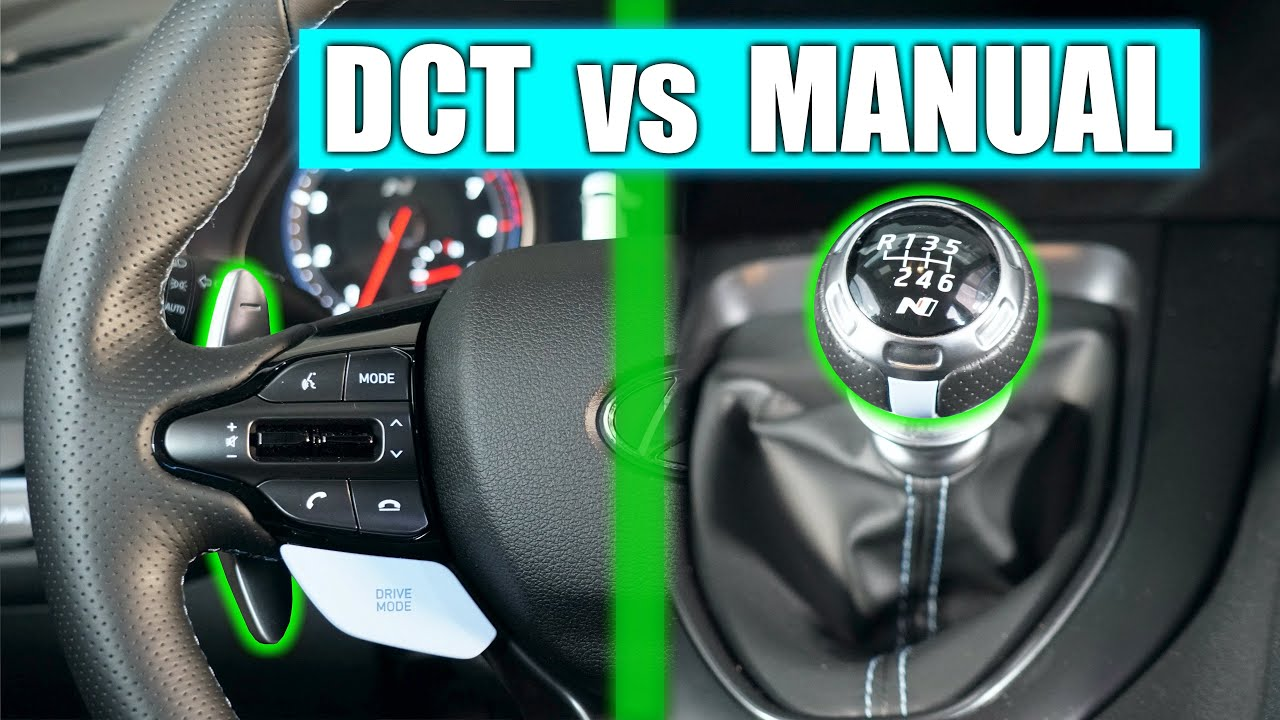 Manual vs Dual Clutch - What's The Best Transmission?