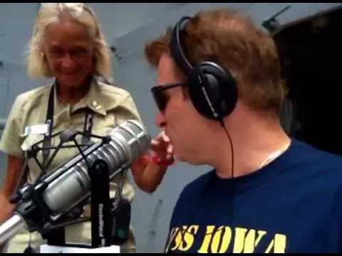 Simon Conway and WHO Radio at the USS Iowa on July 3, 2012