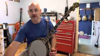 LOTW - Banjo Lessons: G melodic - A very common melodic lick in B flat pentatonic (G blues scale)