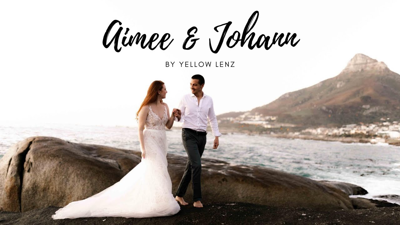 Johann & Aimee   Cape Town Elopement Photoshoot by Yellow Lenz