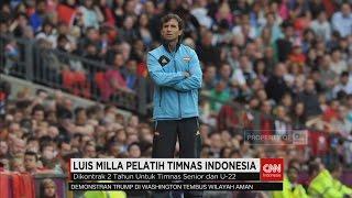 Luis Milla Resmi Jadi Pelatih Timnas Indonesia , Target Berat Menanti