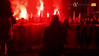 Marsz Polski Niepodległej Wrocław 2018