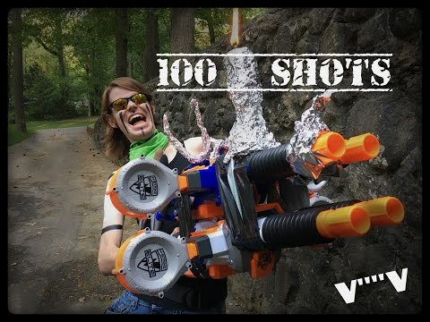HOW TO DUAL-WIELD NERF'S LARGEST BLASTER!!!