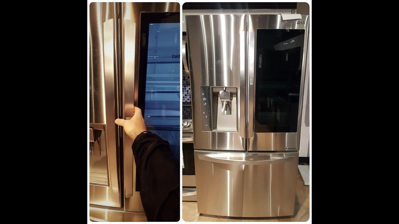 Lg Refrigerator Review 30 Cubic Foot Instaview Door In
