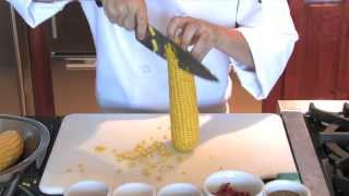 Seared Sea Scallops With Smoky Corn Puree - Louisiana 2 Step Healthy Recipes