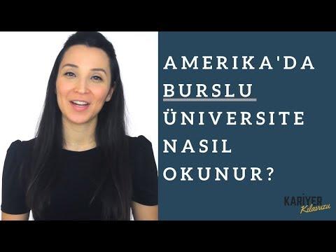 Amerika'da Burslu Universite Nasil Okunur?