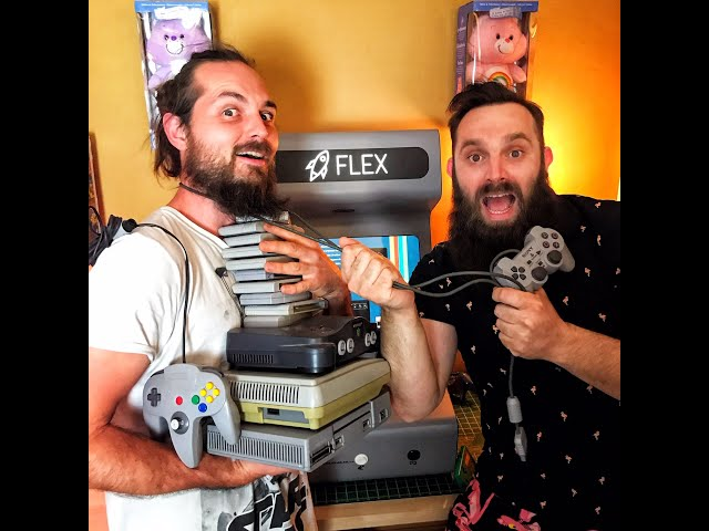 Borne arcade Retrogaming de chez Flex arcade
