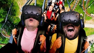 Roller Coaster (Speed Train) Pinch - Virtual Reality