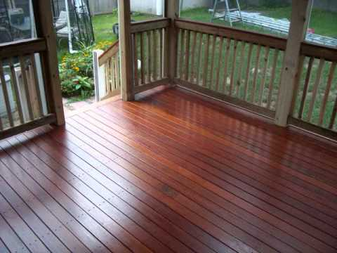 Building A 3 Season Porch Wmv Youtube