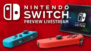 Nintendo Switch Livestream - Console, OS, and Early Zelda Impressions